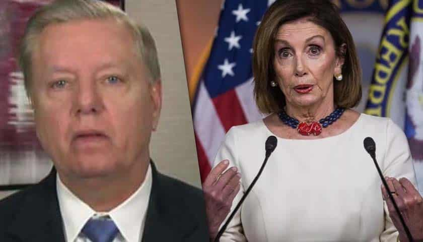 Graham scolds Pelosi for attack on Trump, calls it 'shameful, disgusting' 1