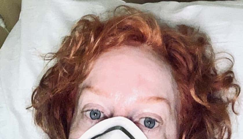 Sick Kathy Griffin rips Trump over testing, then learns she didn't have COVID-19 1