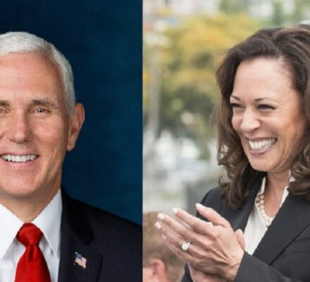 Mike Pence called Kamala Harris