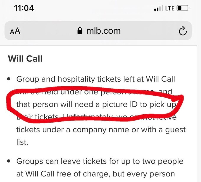 MLB pulls All-Star game over voting law, but requires ID to pick up tickets 1